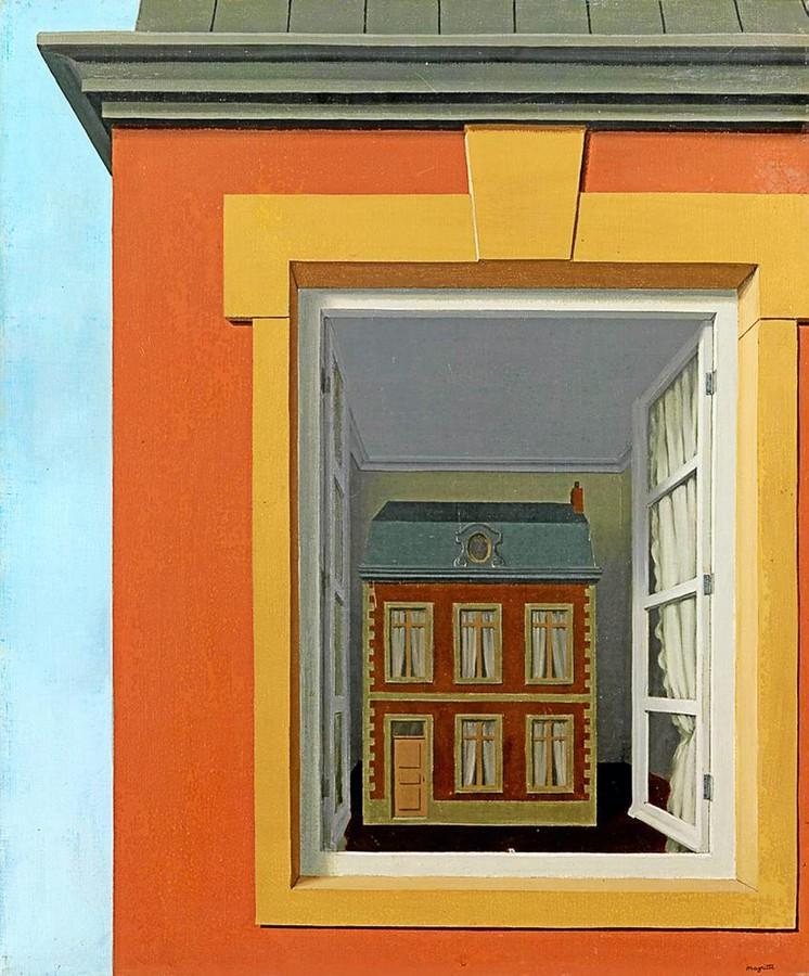Cours du 13 mai 2013 l 39 art moderne for Magritte le faux miroir