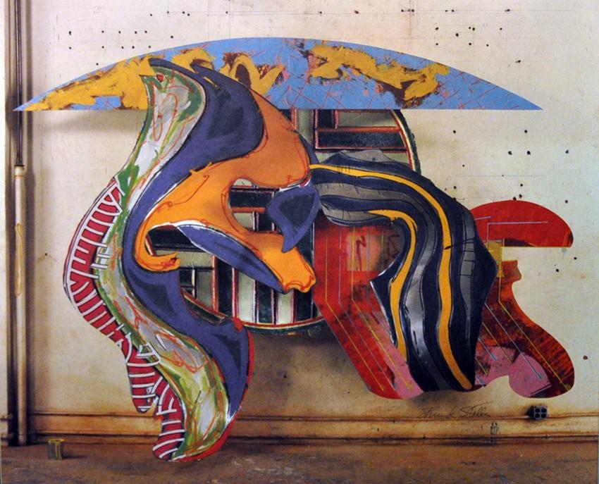 Cours du 10 mars 2014 l 39 art moderne for Frank stella peinture